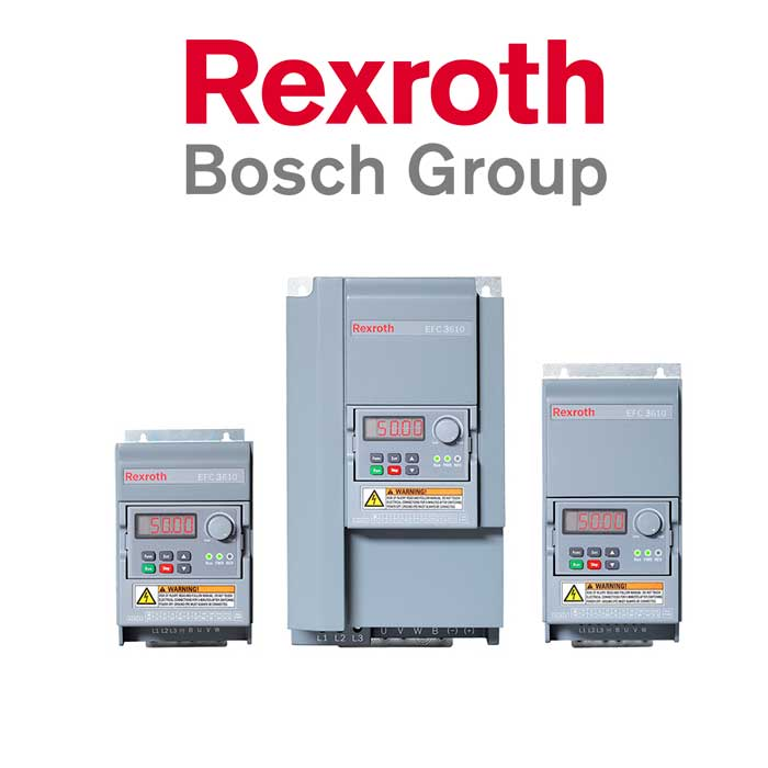 vds Rexroth Bosch Group trifásico